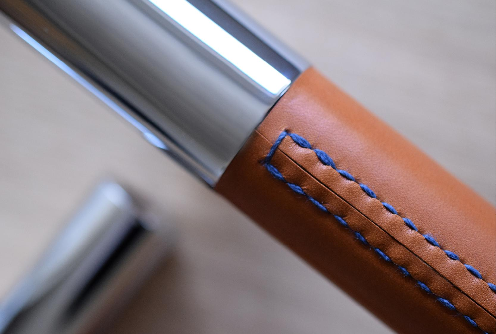 LARGE BARREL MULTI GRIP WITH BLUE STITCHING